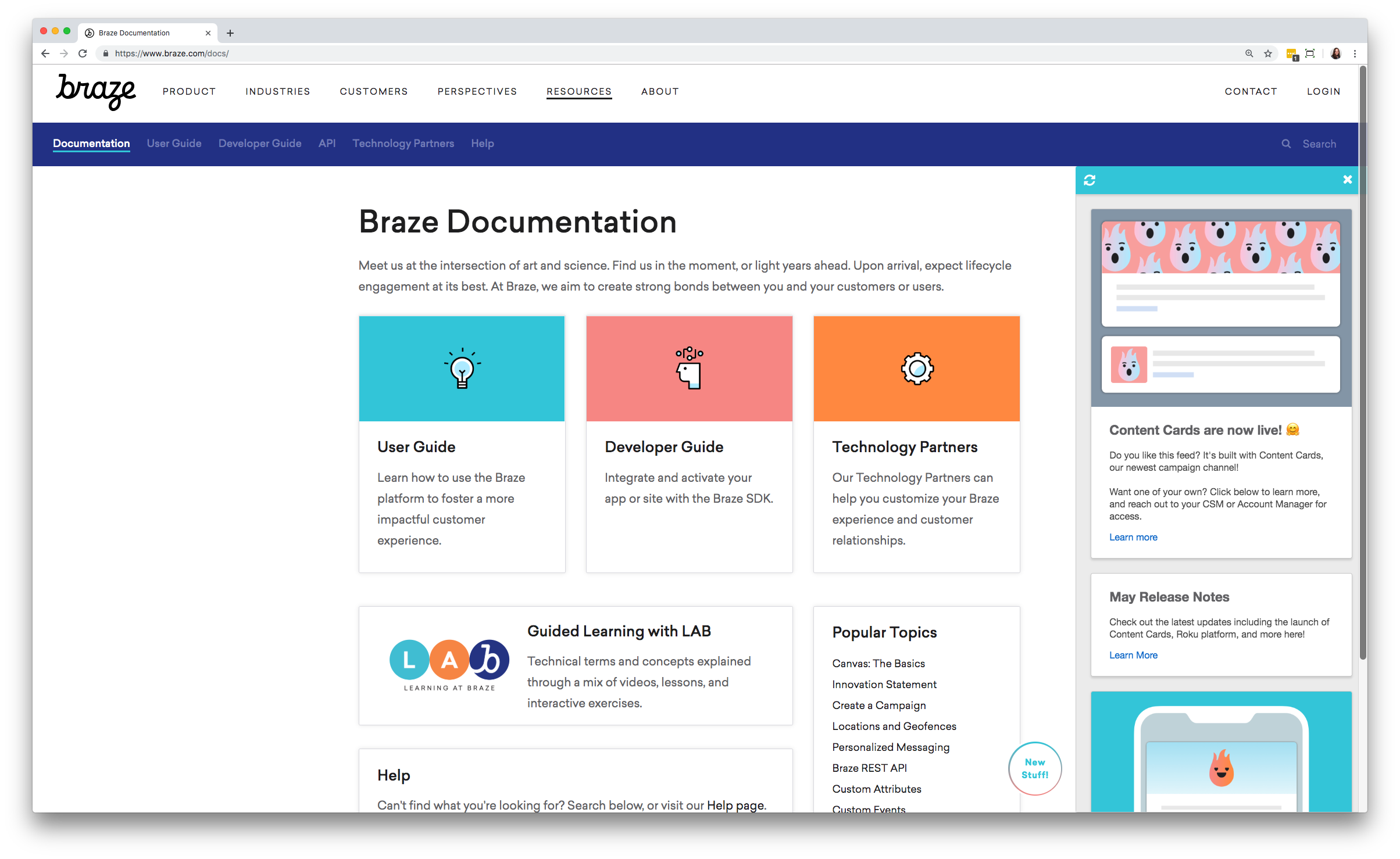 Braze Product Updates May 2019: Content Cards and Roku… | Braze