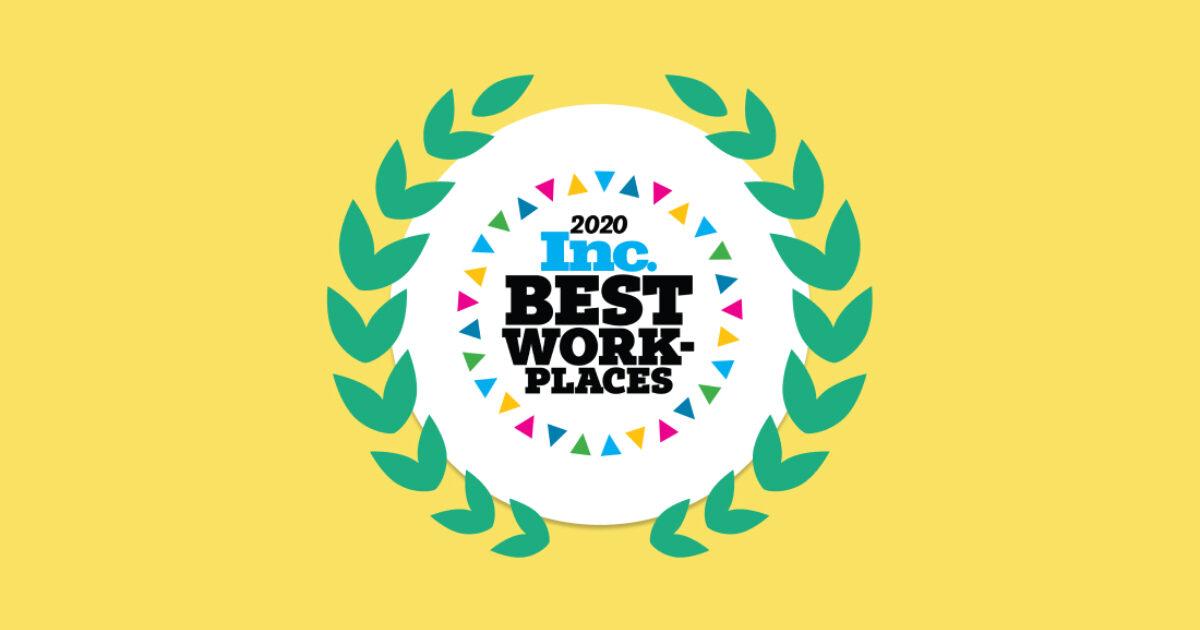 Braze Named One Of Inc Magazine S 2020 Best Workplaces Braze