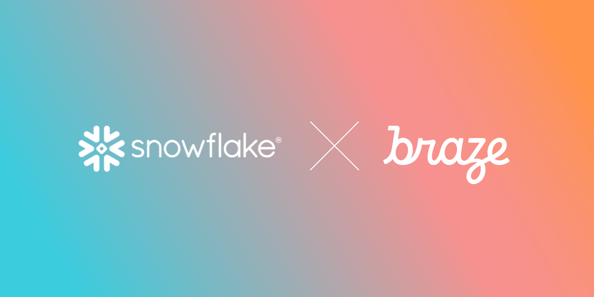 Braze Announces Snowflake Partnership and Data Sharing Support